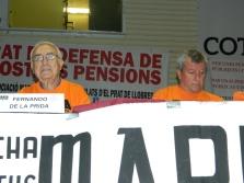 Els companys Fernando de la Prida, coordinadora estatal, i Domiciano Sandoval.